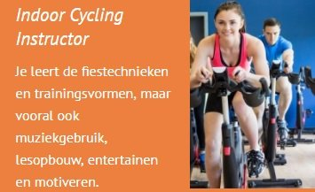 Spinning opleiding