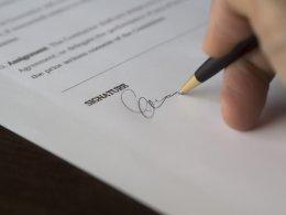 convenant wordt ondertekend