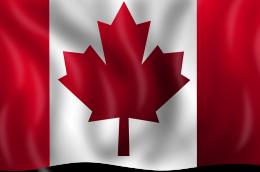 vlag canada scheiding buitenland