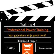 Training 4: De Professional Power Training
