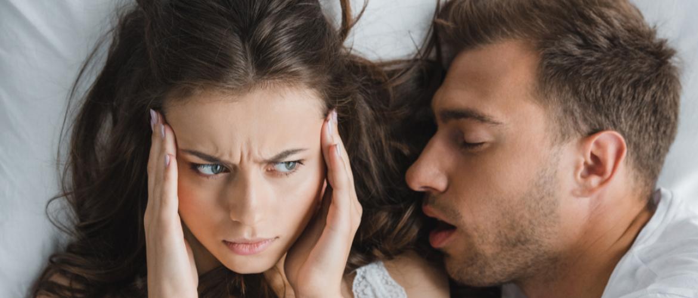 Help! Mijn man/vrouw is een snurker!