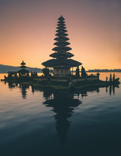 Asia Travel: Temples of Bali Indonesia