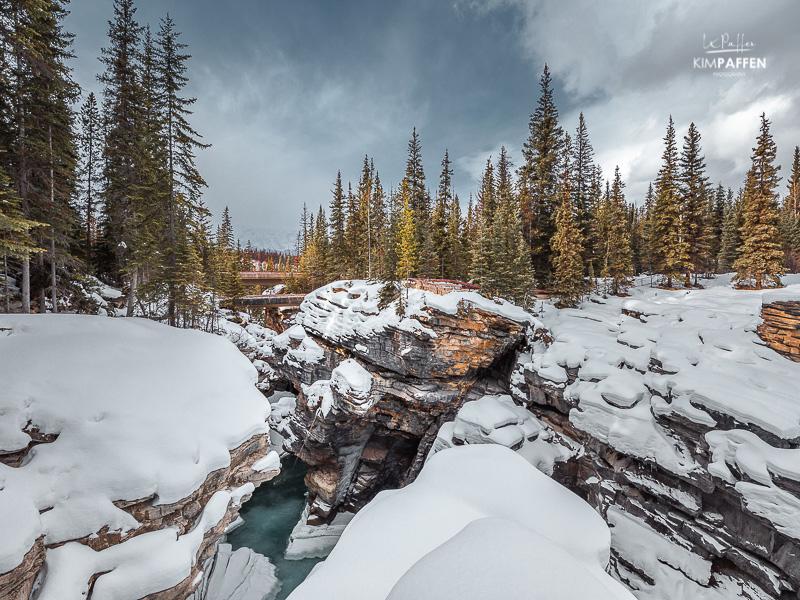 Canada Travel: Athabasca Falls Jasper National Park
