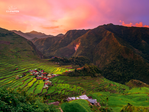Batad Rice Terraces of the Ifugao in Northern Luzon, Philippines