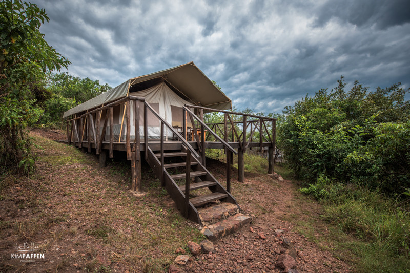Sustainable travel in eco-friendly safari tent