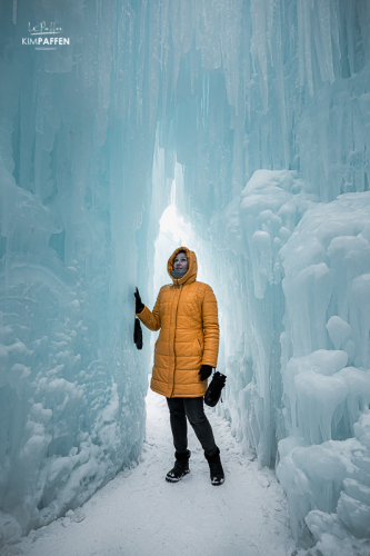 Canada Things to do: Ice Castles in Edmonton