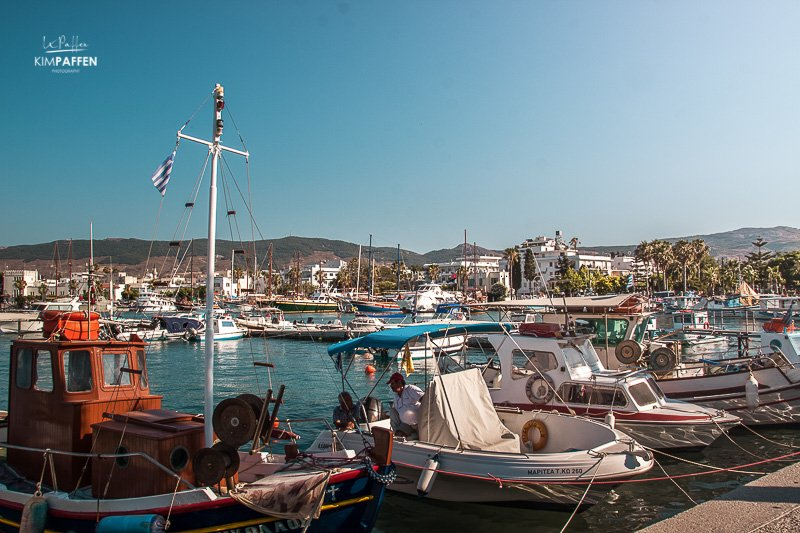 Explore Kos Town and Kos port by bike