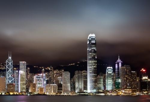Hong Kong Harbor: Symphony of Lights
