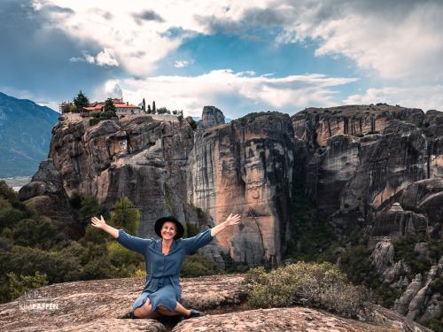 Visit Meteora Monasteries in Greece