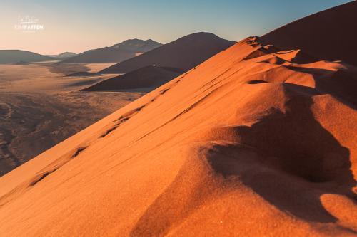 Dune 45 in Sossusvlei, Namib Desert