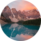 North America Travel: Moraine Lake Canada