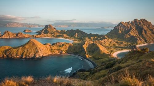 Padar Island Komodo Flores