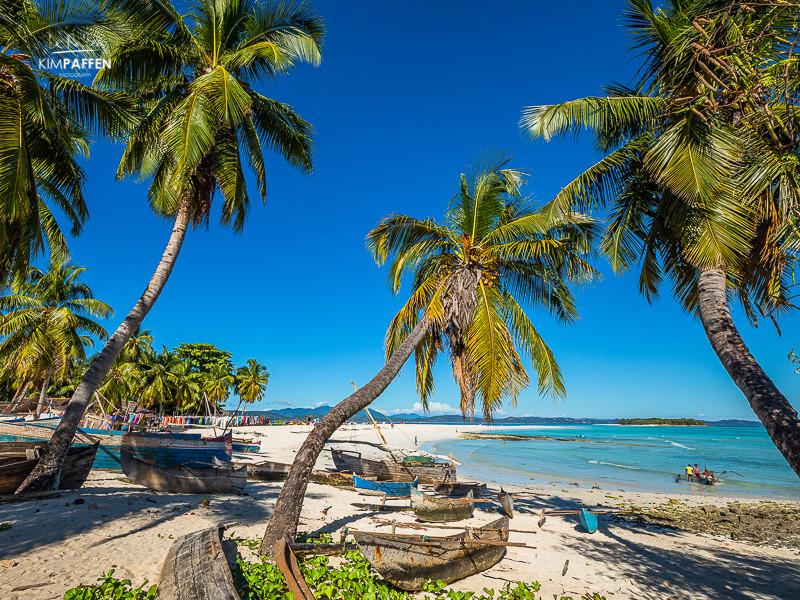 White Sandy Paradise Beaches of Madagascar