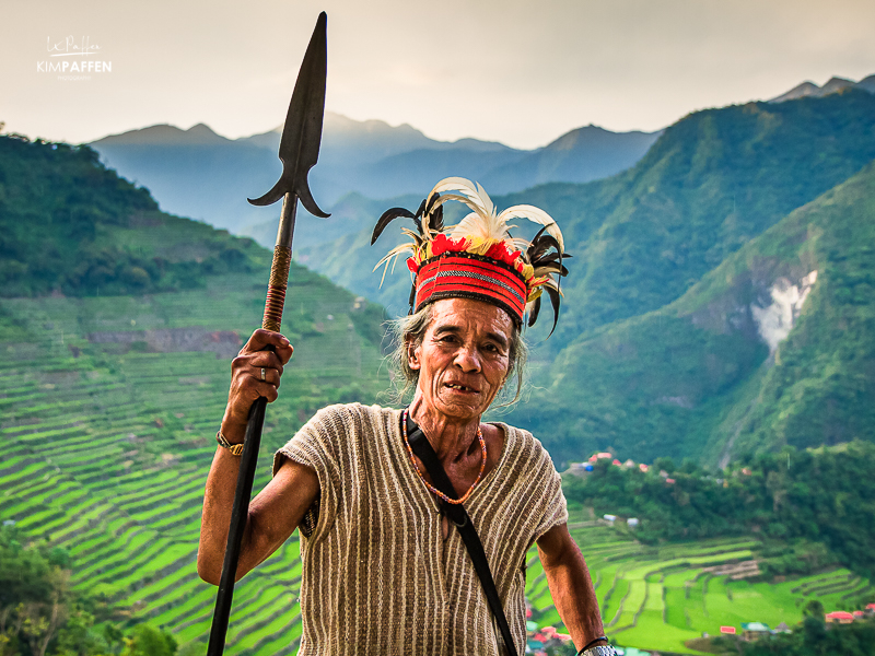 Ifugao Tribe, Batad Philippines