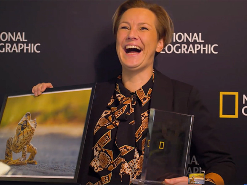 Photography Award for Kim Paffen by National Geographic
