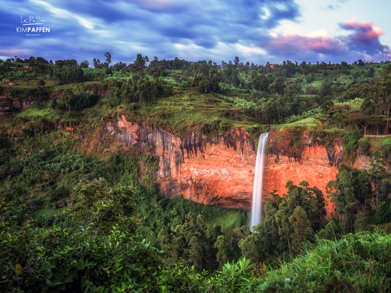 Travel to Sipi Falls in Uganda: Long Exposure Photography by Kim Paffen