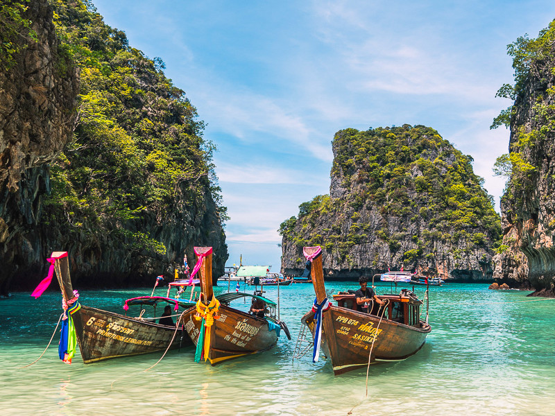 Thailand Travel: Maya Bay, Koh Phi Phi