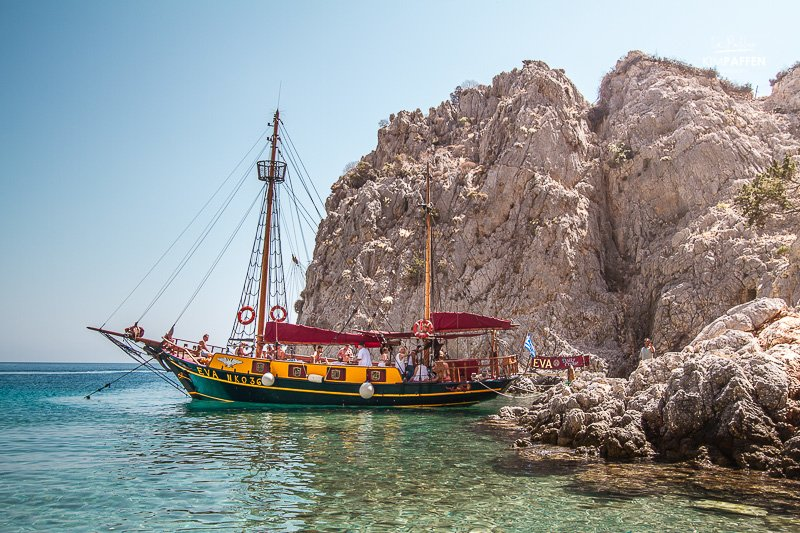 Eva Boat Tour is one of the best things to do in Kos