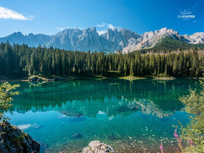 Travel to Europe: visit Lago di Carezza in Dolomites