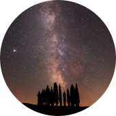 Travel to Europe: visit Tuscany for dark sky photography