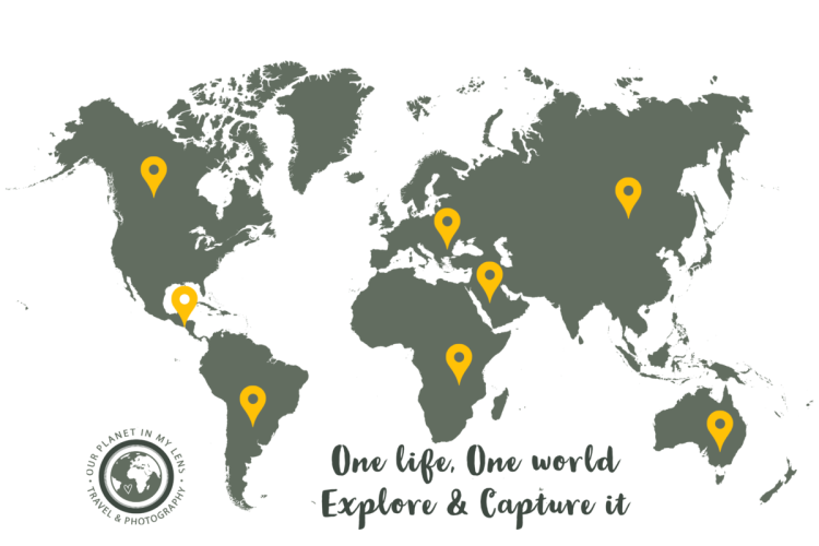 Travel World Map: One Life, One World, Explore and Capture it