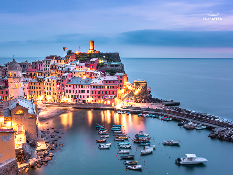 Travel to Europe: visit Cinque Terre in Italy