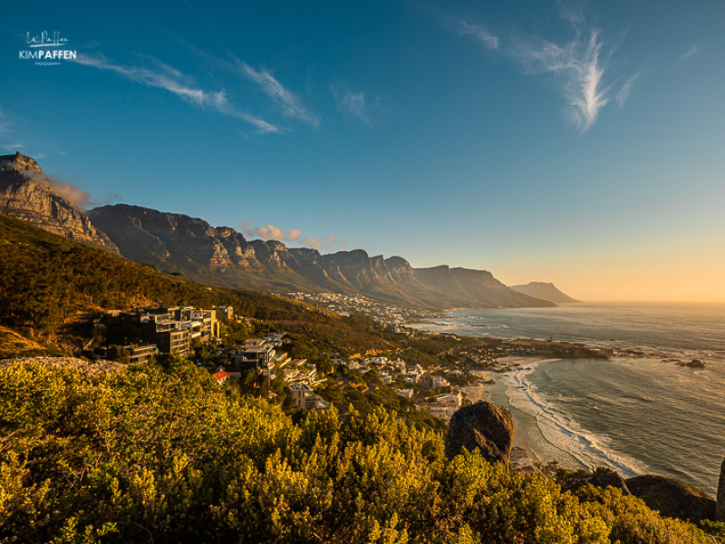 Sunset Rock Camps Bay is one of the best places to watch the sunset in Cape Town