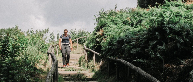 Wandelen op de Duivelsberg nabij Nijmegen
