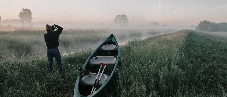 Scandinavisch kamperen in de Achterhoek
