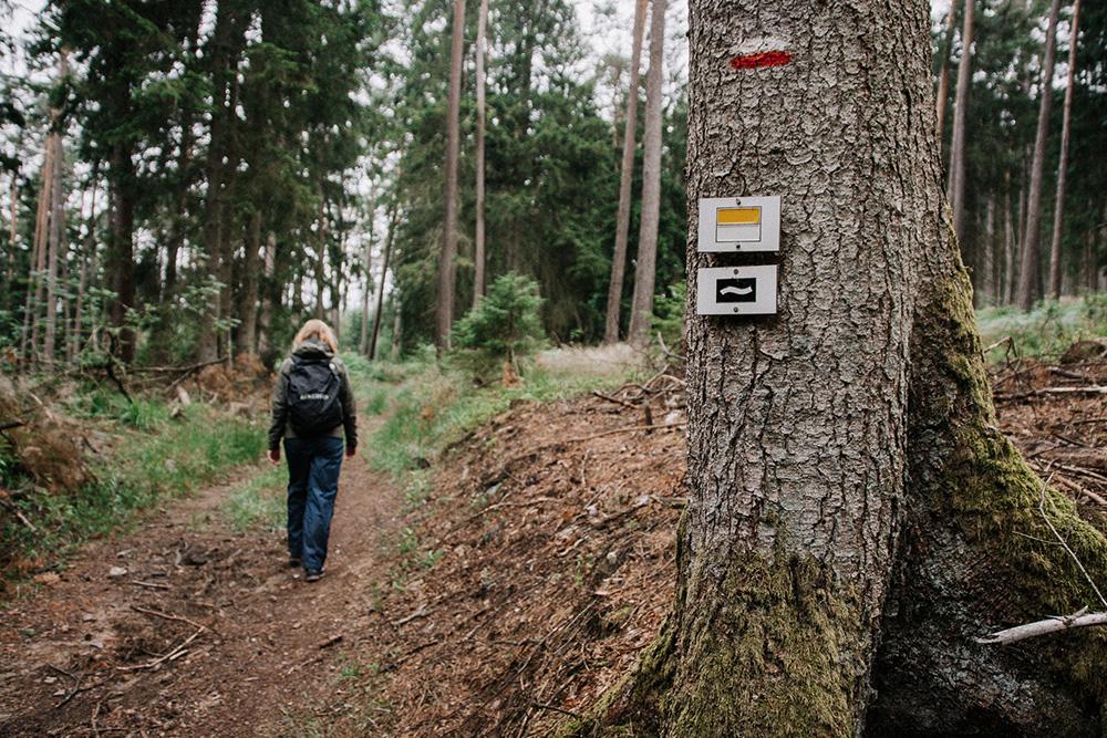 lange-wandelroutes-belgie-markering