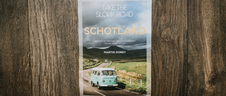 De mooiste roadtrips in Schotland verzameld in één boek