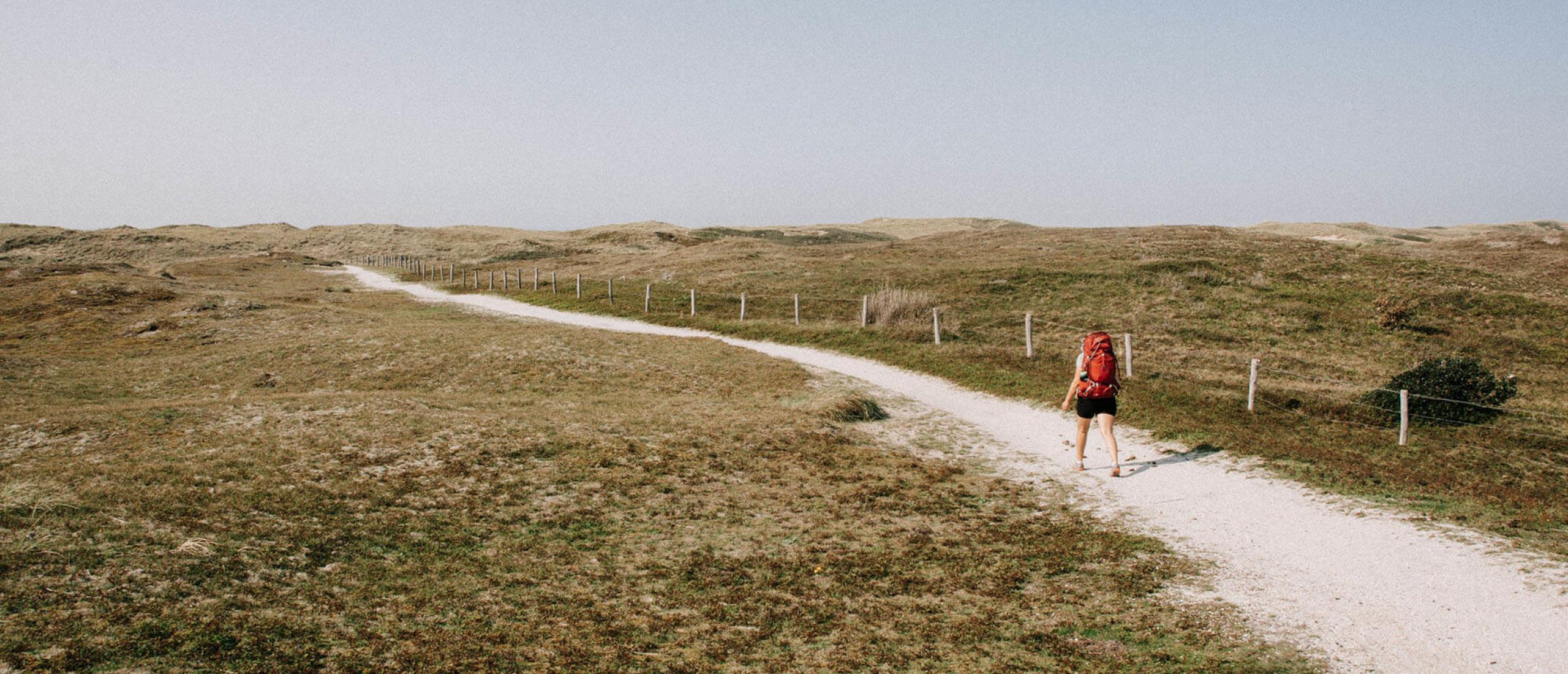 Het Nederlands Kustpad: een lange afstand wandelpad aan zee