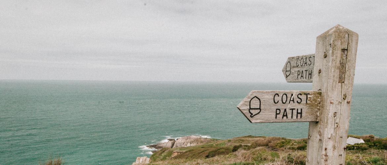 Het South West Coast Path wandelen in Zuid-Engeland