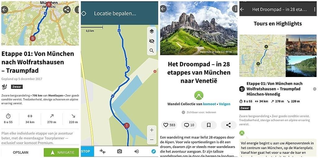 apps-voor-wandelaars-komoot