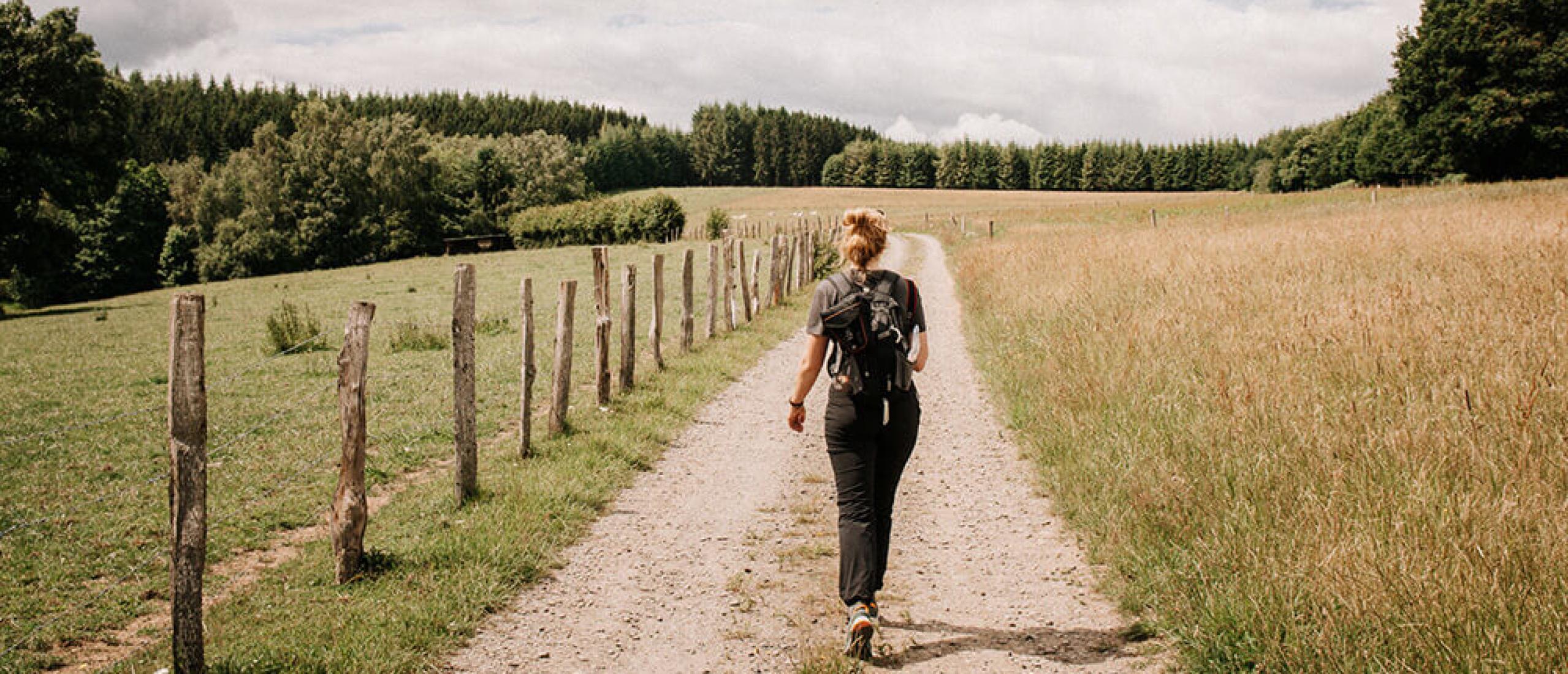 Meerdaagse wandelroutes in België