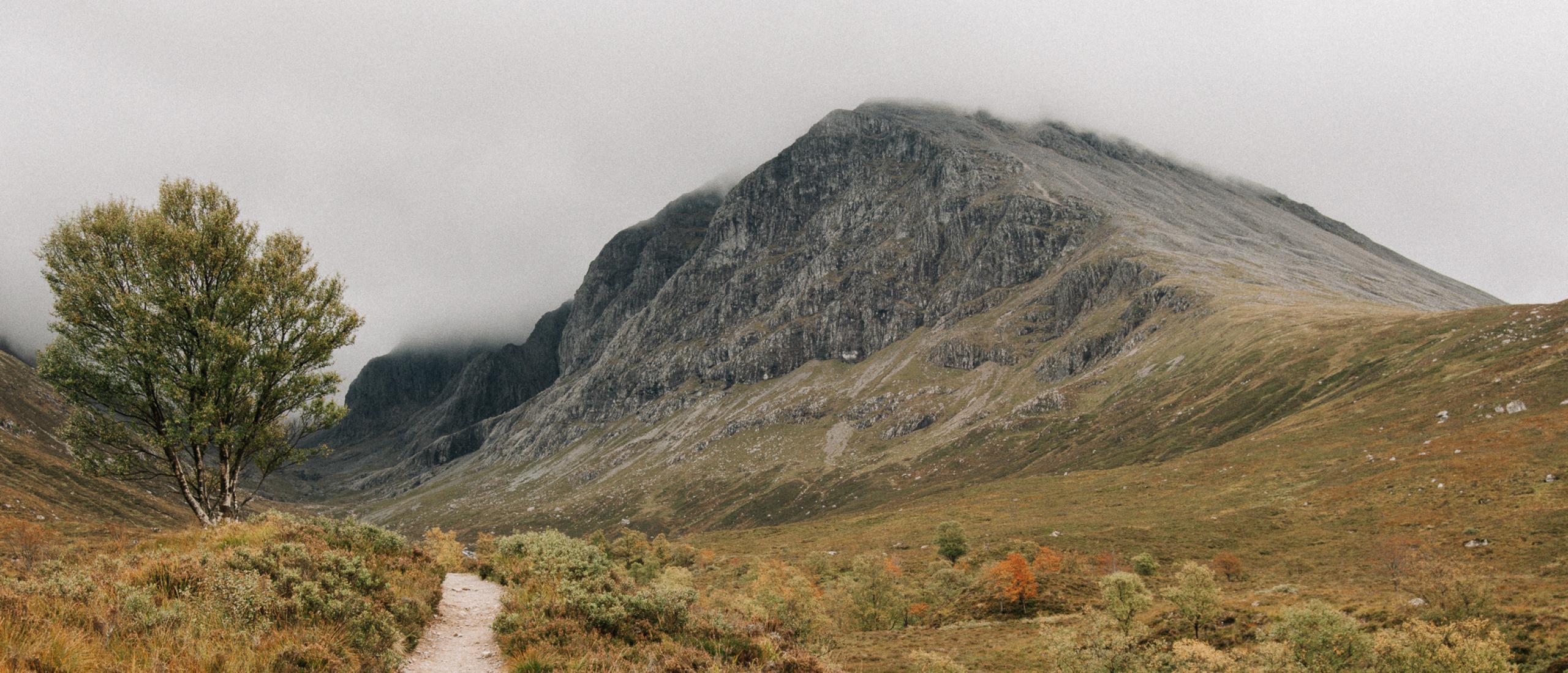 Wandelen naar de top van de Ben Nevis