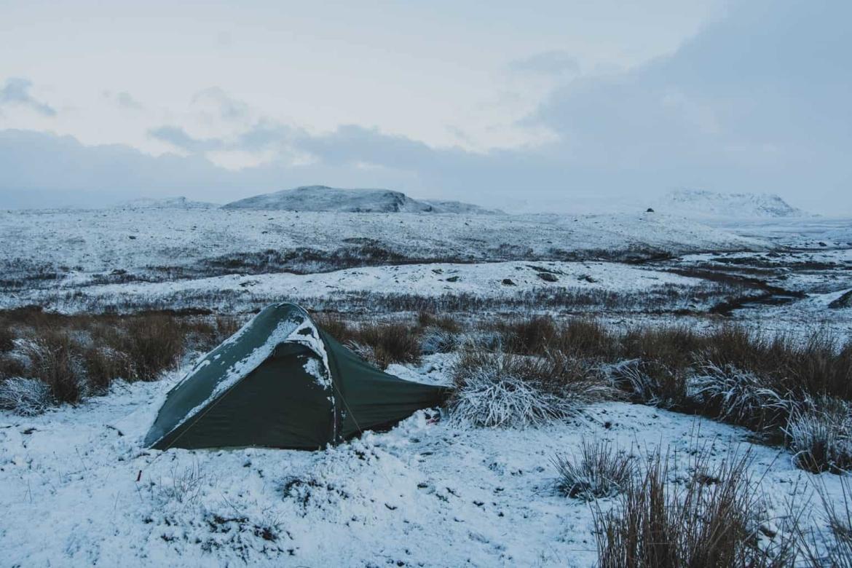 slaapmat-winterkamperen
