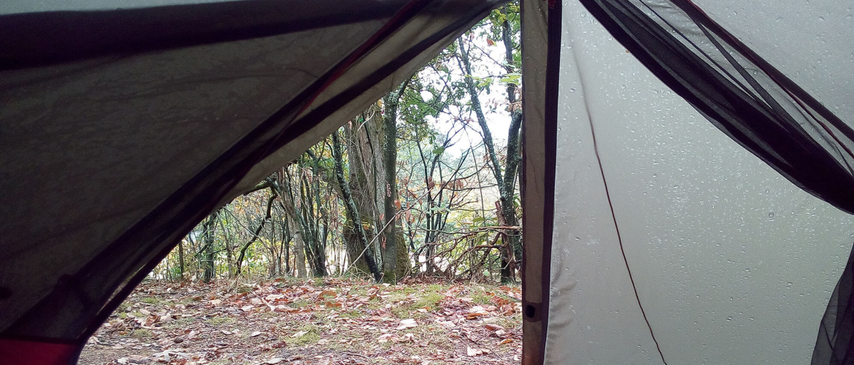 Trekkersplekken: op de bonnefooi naar de camping