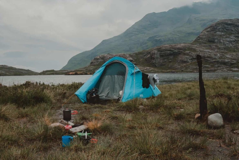 wildkamperen-tent