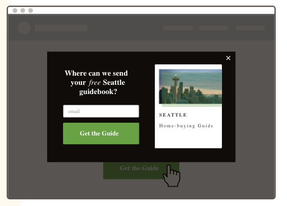 Leadpages pop-up