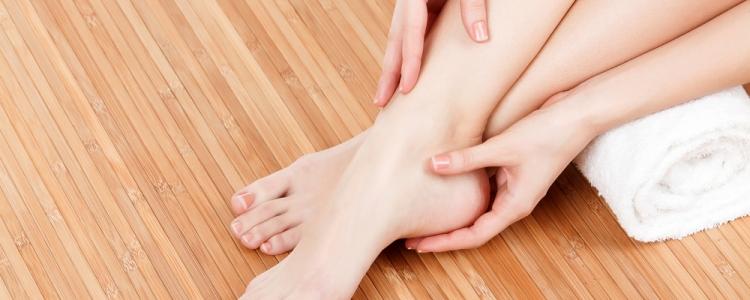 tintelende voeten overgang