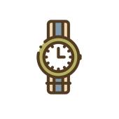 Icoon van horloge