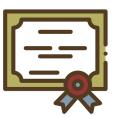 tekening diploma