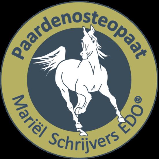Logo paarden osteopaat Mariël Schrijvers
