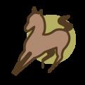 gek paardje