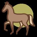 Icon vrolijk paard