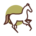 wit paardje