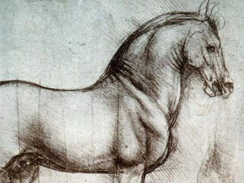 Paard van Leonardo da Vinci