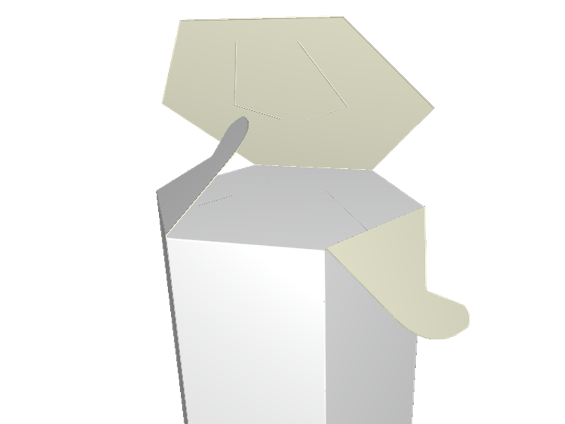 Cadeauverpakking, rozetsluiting, gepersonaliseerde verpakking, persoonlijke verpakking