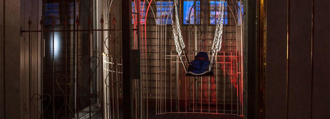 Parenclub Paradise hangstoel